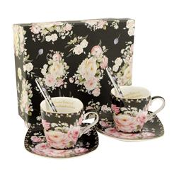 Set pro dva Rose black 0,08l espress
